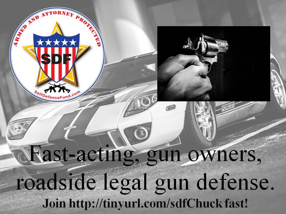 Fast-acting, gun owners, roadside legal gun - chuck digby