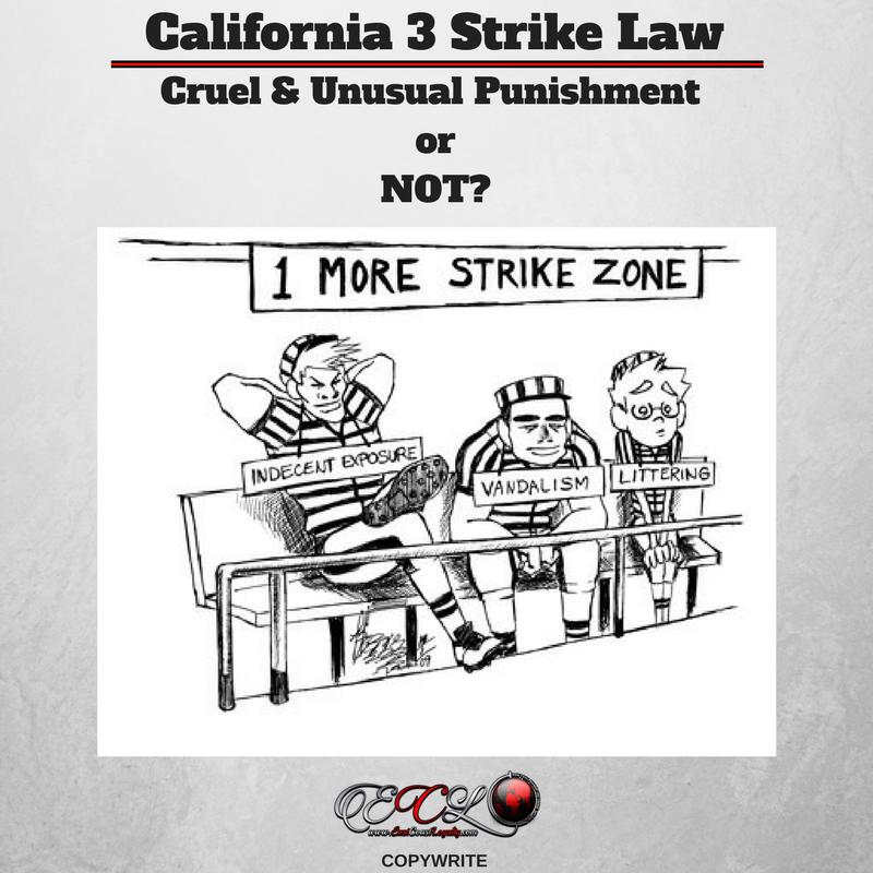 California 3 Strike Law