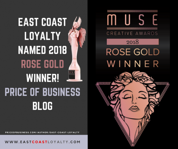2018 Muse Award Winners Rose Gold