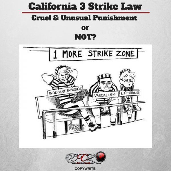 California 3 Strike Law