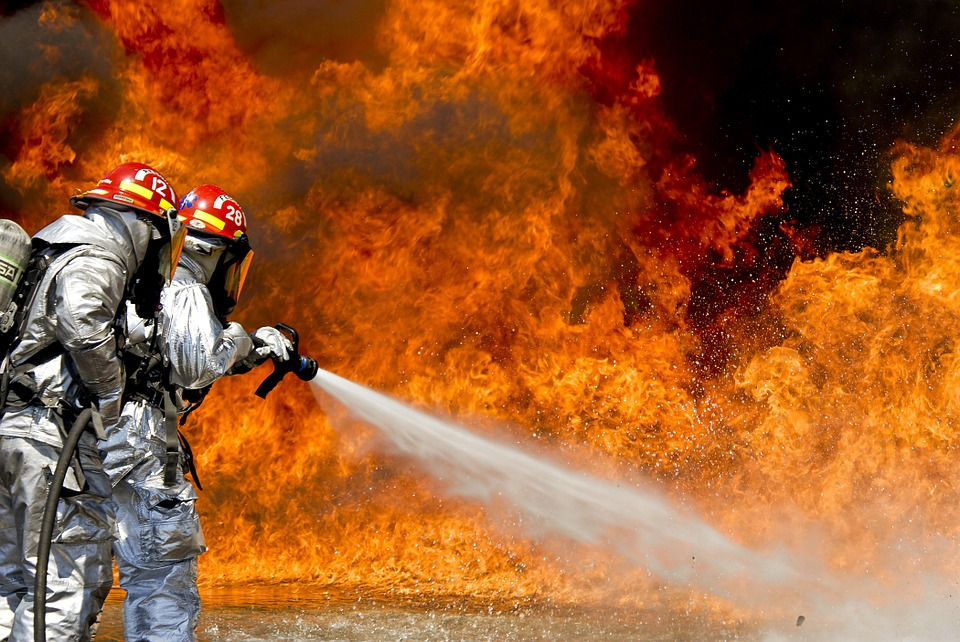 firefighters in gas explosion - lawrence - andover - north andover - massachusetts