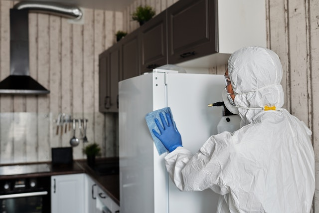 commercial disinfecting service